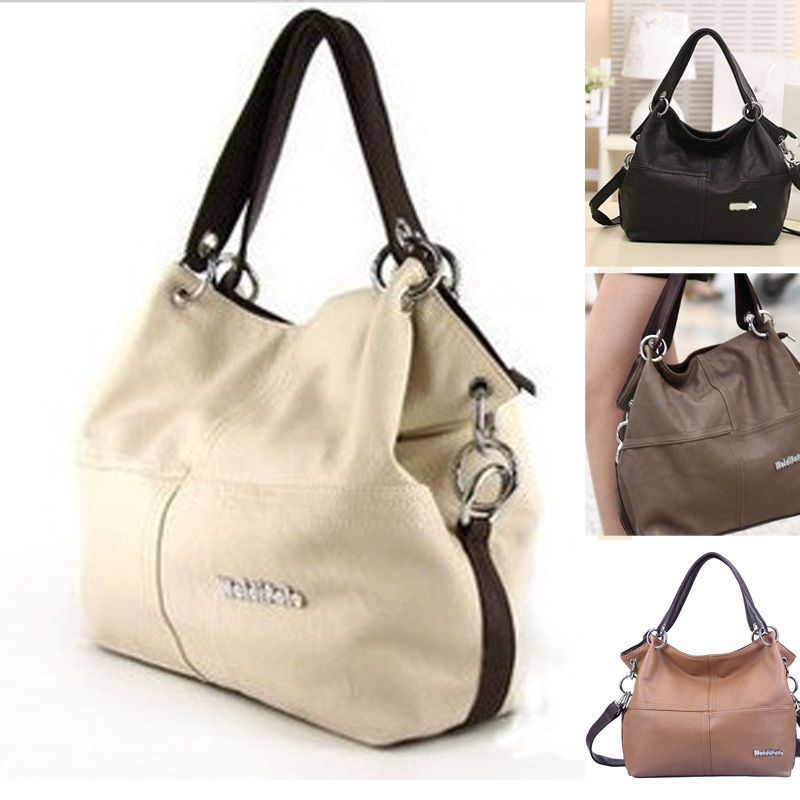 abfc892bb6c2 Fashon Women Shoulder Bag Tote Purse Handbag Messenger Leather ...