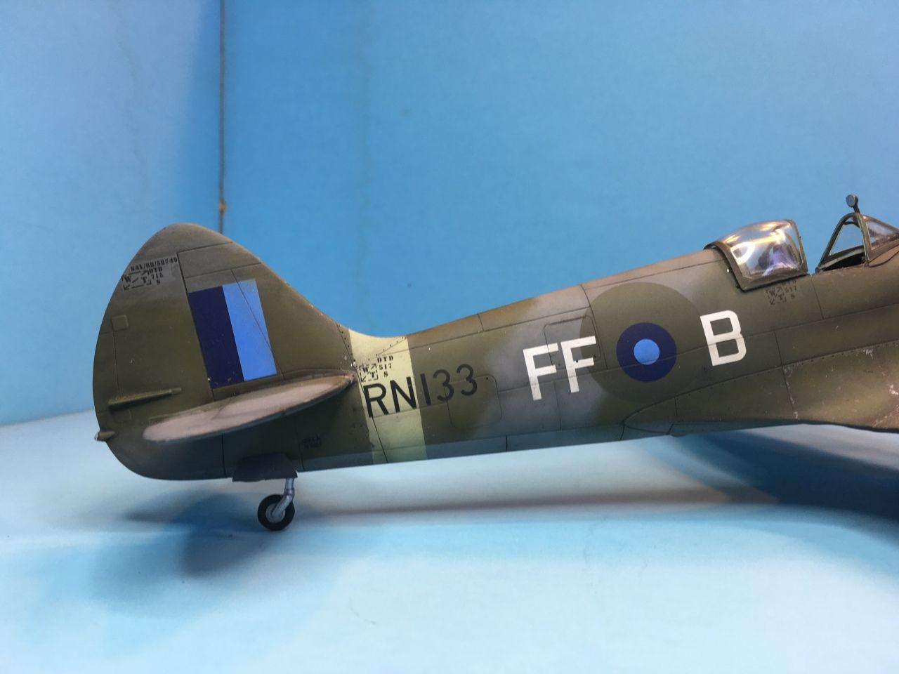 Spitfire MK.XIVc  by David Barclay (Pacific Coast Models 1:32)