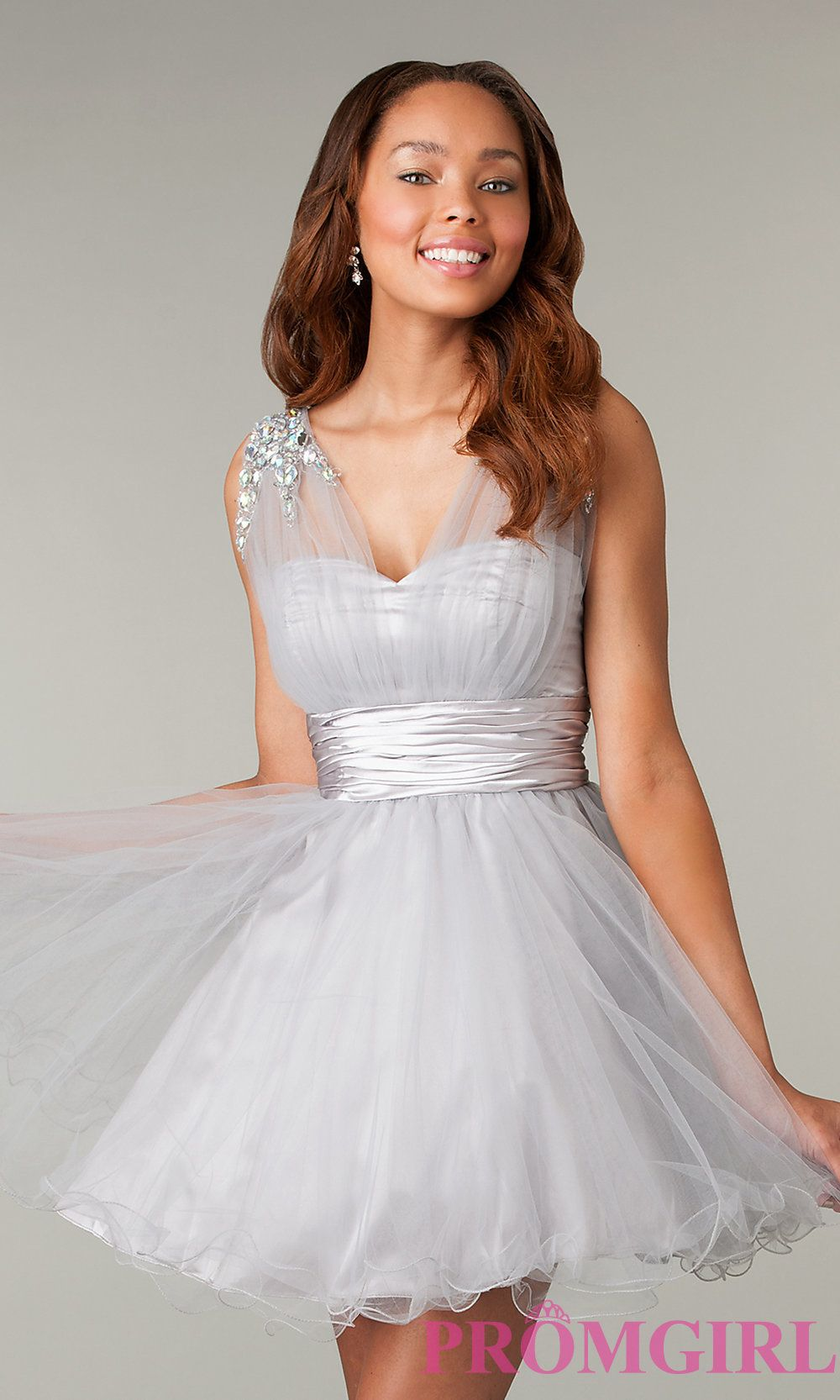 Style: DQ-8590 Front Image | 16 dresses | Pinterest | Corset prom ...