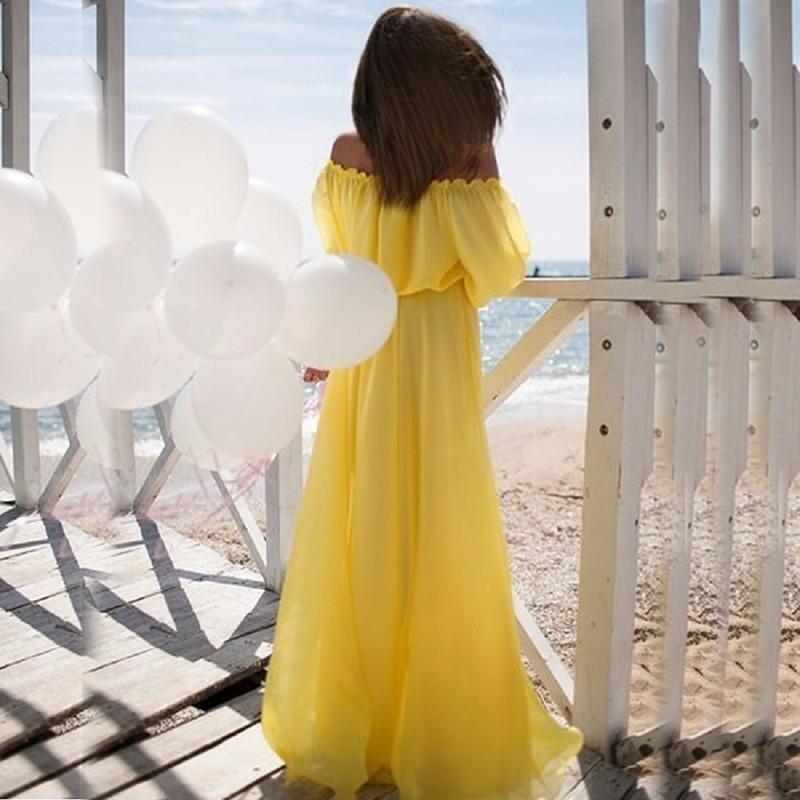 312cafebd01f Boho Loose Fitting Off Shoulder Maxi Dress