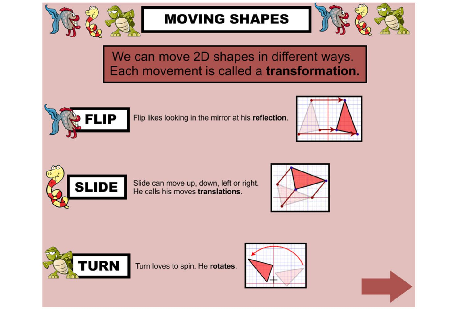 Learn All About Geometric Transformations Flip