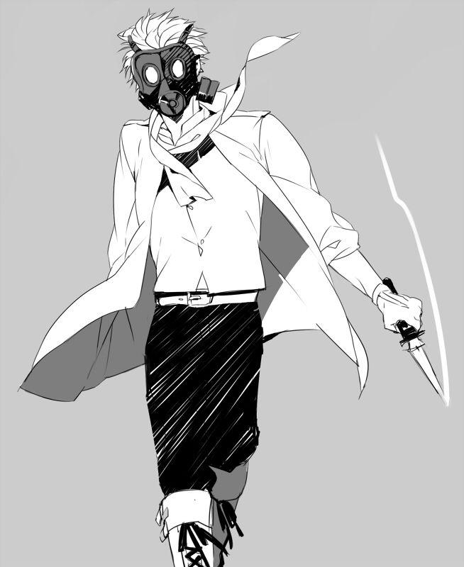 Clear Dmmd Gasmask
