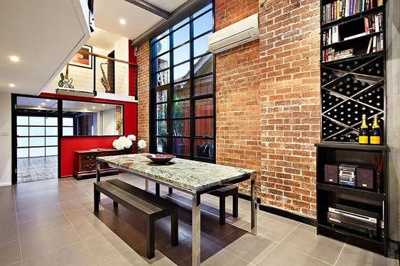 Loft einrichten Ein altes Lagerhaus in Melbourne Spaces Pinterest - einrichtung im industriellen wohnstil ideen loftartiges ambiente