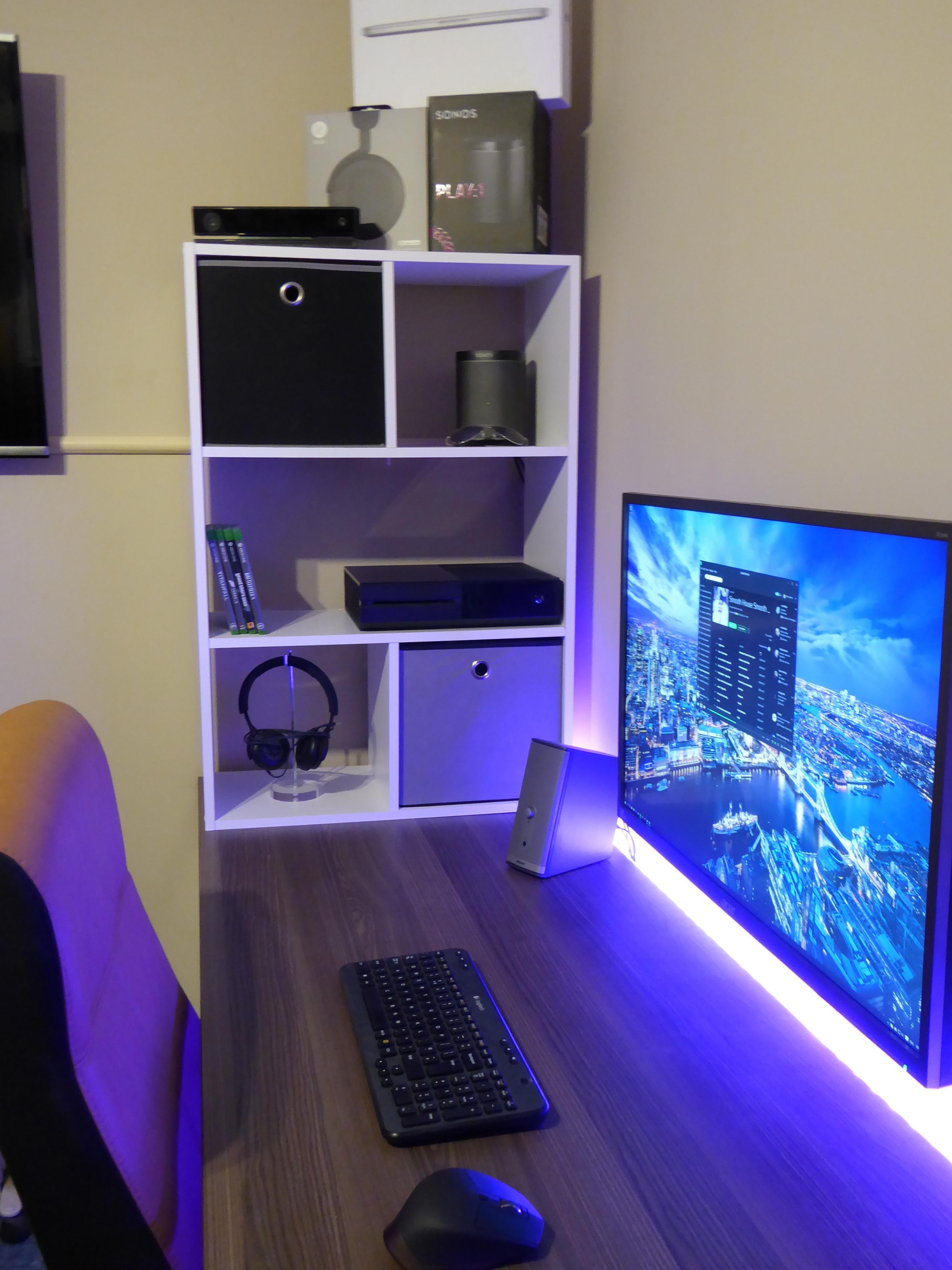 new battlestation album gaming setup and desks. Black Bedroom Furniture Sets. Home Design Ideas