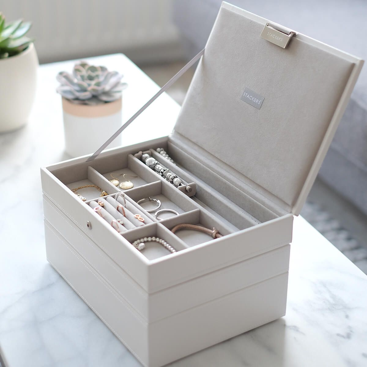 Stackers Jewellery Boxes Create Your Own Jewellery Box Jewelry Organizer Box Stackers Jewellery Jewelry Storage Diy