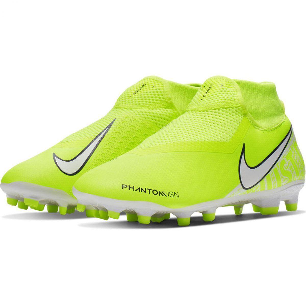 Buty Pilkarskie Nike Phantom Vsn Academy Df Fg Mg M Ao3258 717 Rozowe Zolte Soccer Cleats Football Shoes Nike