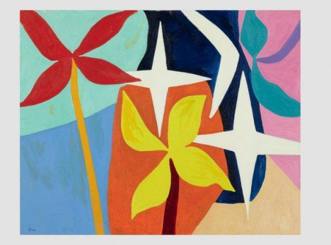 Gillian Ayres art: Art Gallery London | Current Art ...