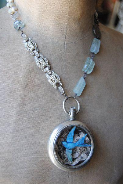"Christine Wallace... ""Honoring Life Through Jewelry"": Bluebird"