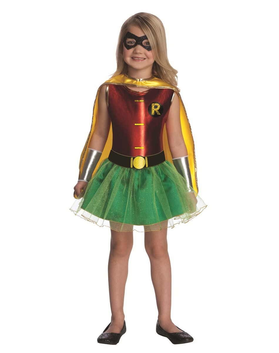 Batman Robin Tutu Girls Costume  sc 1 st  Pinterest & Batman Robin Tutu Girls Costume | Halloween | Pinterest | Batman ...