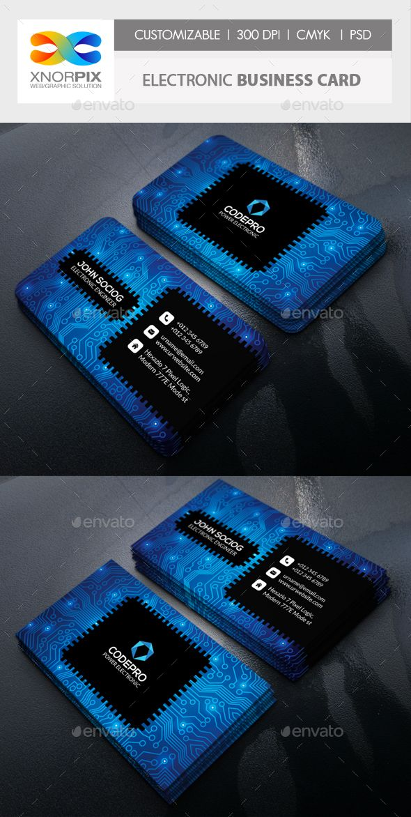Electronic business card business cards 2d and brochures electronic business card fbccfo Choice Image