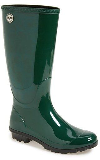 9ced15cea14 Women's UGG 'Shaye' Rain Boot, Size 7 M - Green | Shoes, Boots and ...