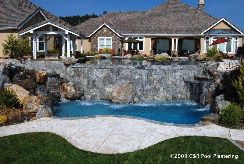 Gemstone Tiger Eye Pool Plaster Swimming Pools House Styles