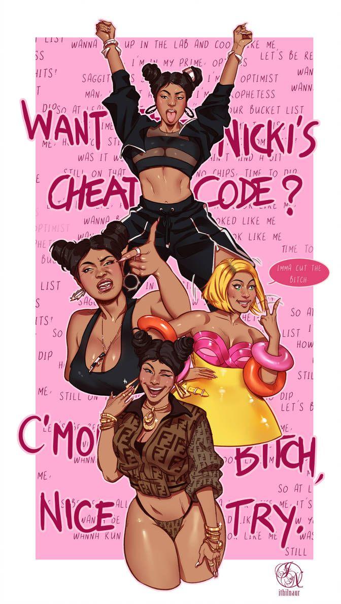 Barbie Tingz - Nicki Minaj fanart by Ithilnaur on DeviantArt