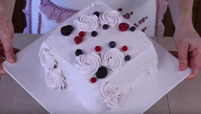 Torta Quadrata Facile Torta Di Compleanno Furba Veloce Torte Torte Quadrate Torte Di Compleanno