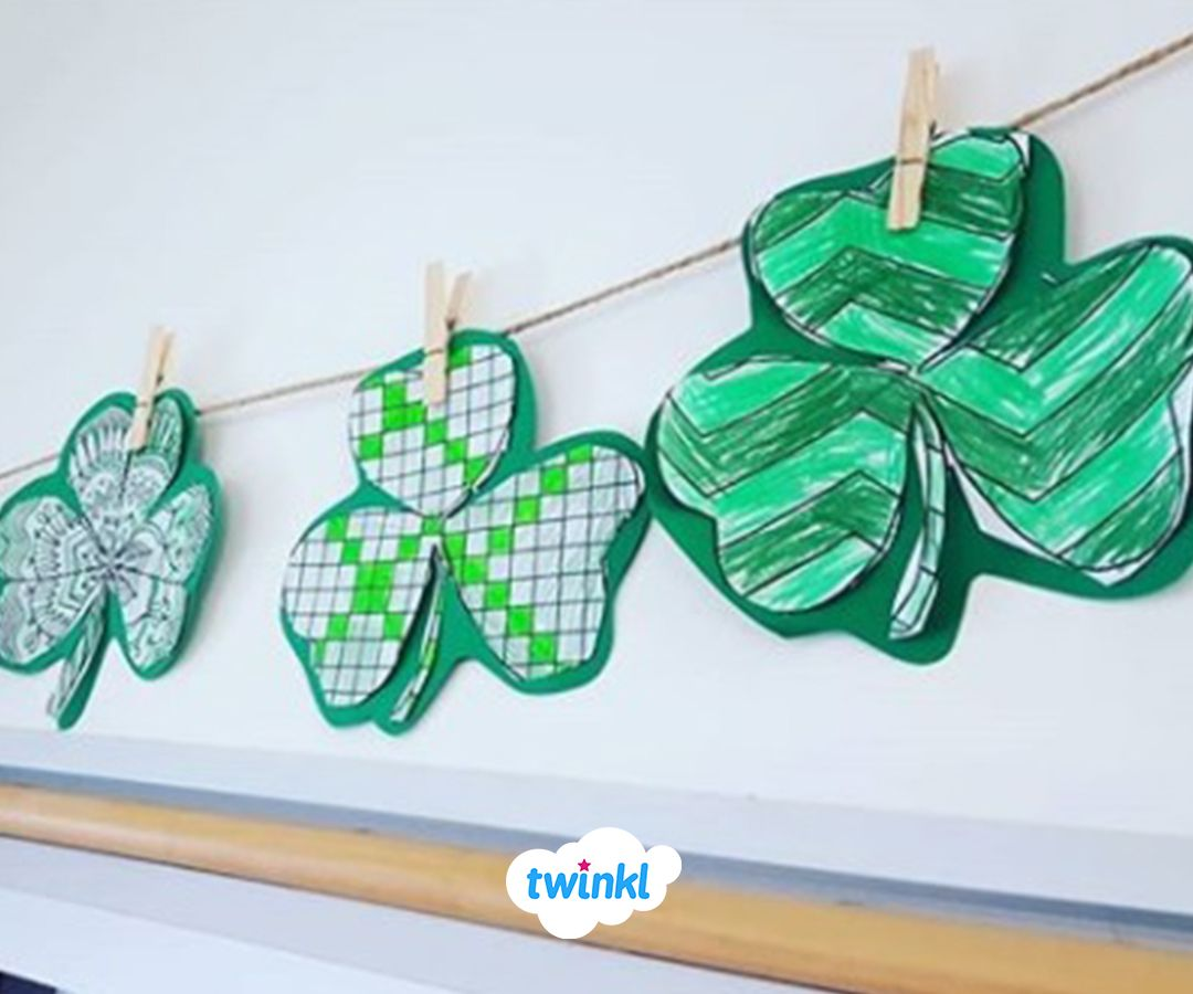 Free To Download Use Our St Patrick S Day Patterned
