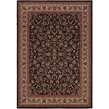 Home Traditional Area Rugs Transitional Area Rugs Black Rug