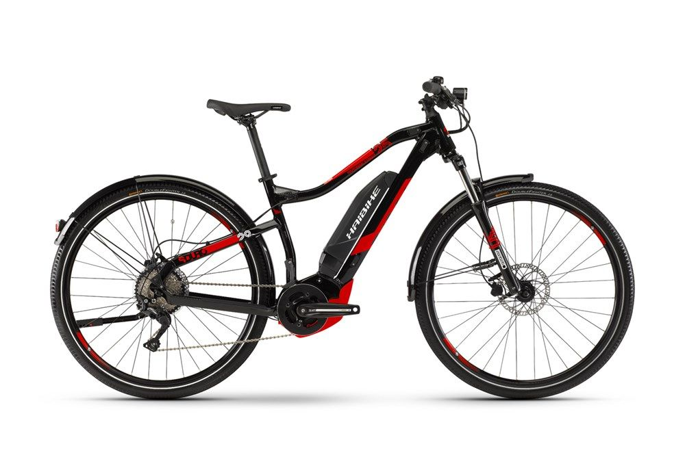 Haibike Sduro Hardnine 2 5 2019 Street Electric Hybrid Bike Black