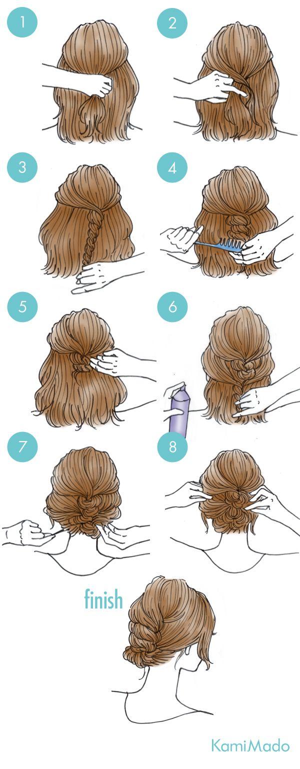 ヘアアレンジは髪の毛が短くても、様々なバリエーションがあります!そこで、今回はボブでも簡単に出来ちゃう、ふんわり可愛いアップスタイルのヘアアレンジ方法をご紹介します。