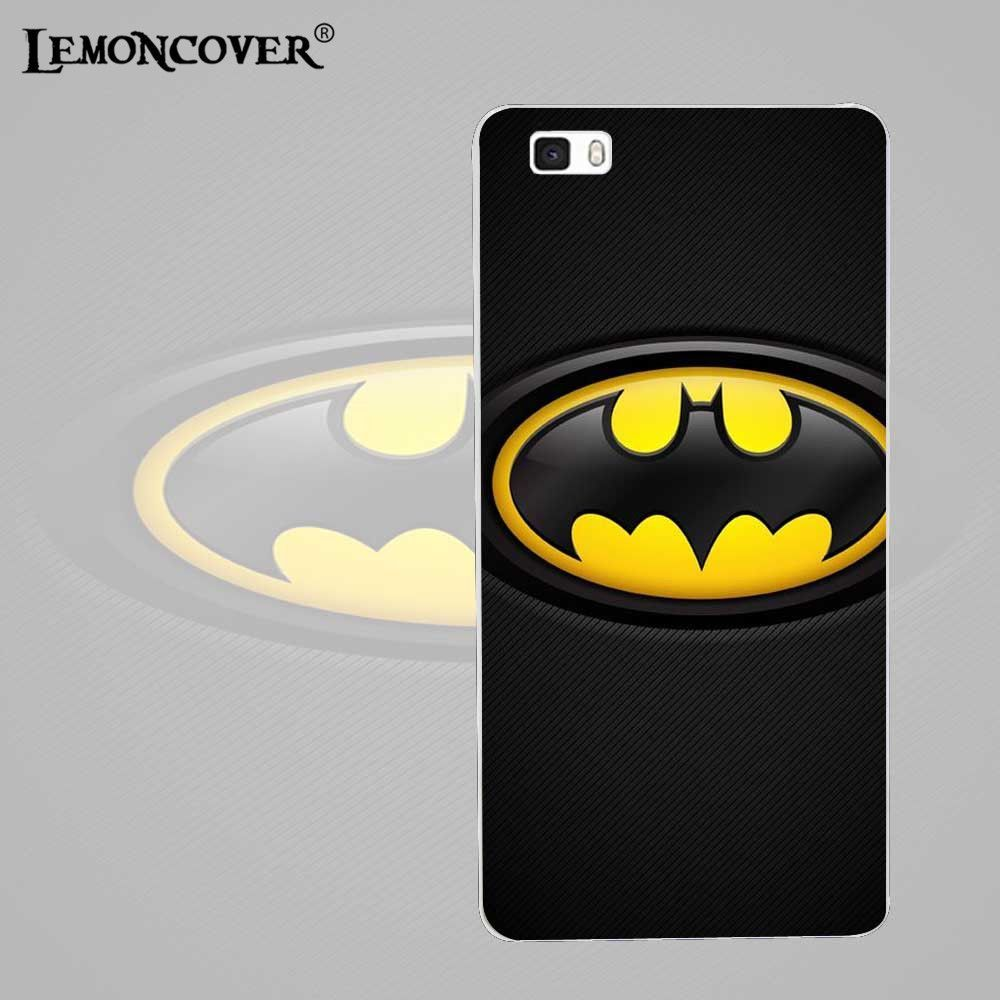 The Avengers Character Logo Giclee For Huawei Ascend P8 Lite Case Silicone Superhero Symbol Phone Cases Fundas Back Cover Shell