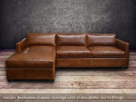 Superieur Arizona Leather Sectional Sofa With Chaise   Top Grain Aniline Leather  #LeatherSectionalSofas