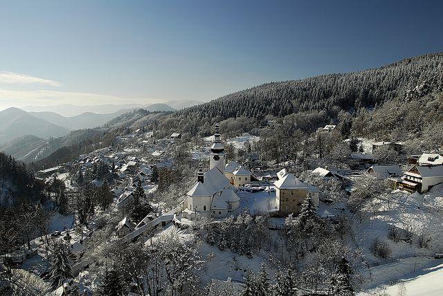 Village Špania Dolina near Hotel Kaskady  #luxury #holiday #hotel #kaskady #Špania #Dolina #tourist #Banská #Bystrica