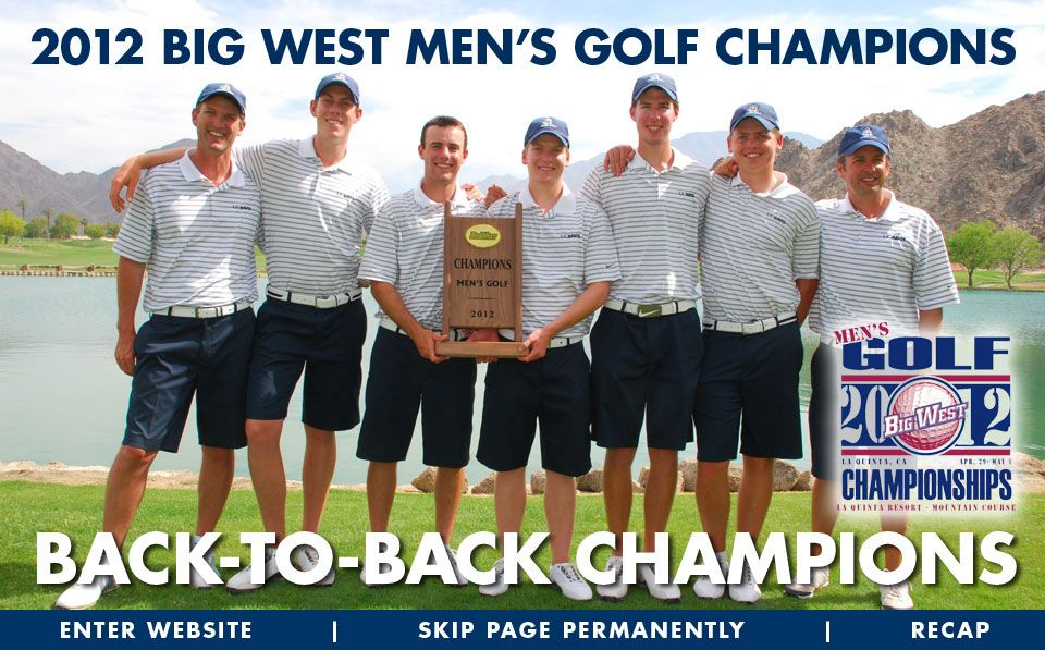 2012 Big West Men's Golf Champions (With images) Workout