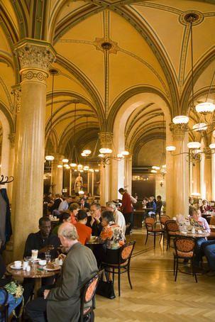 Cafe Central Interior Wien Stephansdom Cafe Restaurant