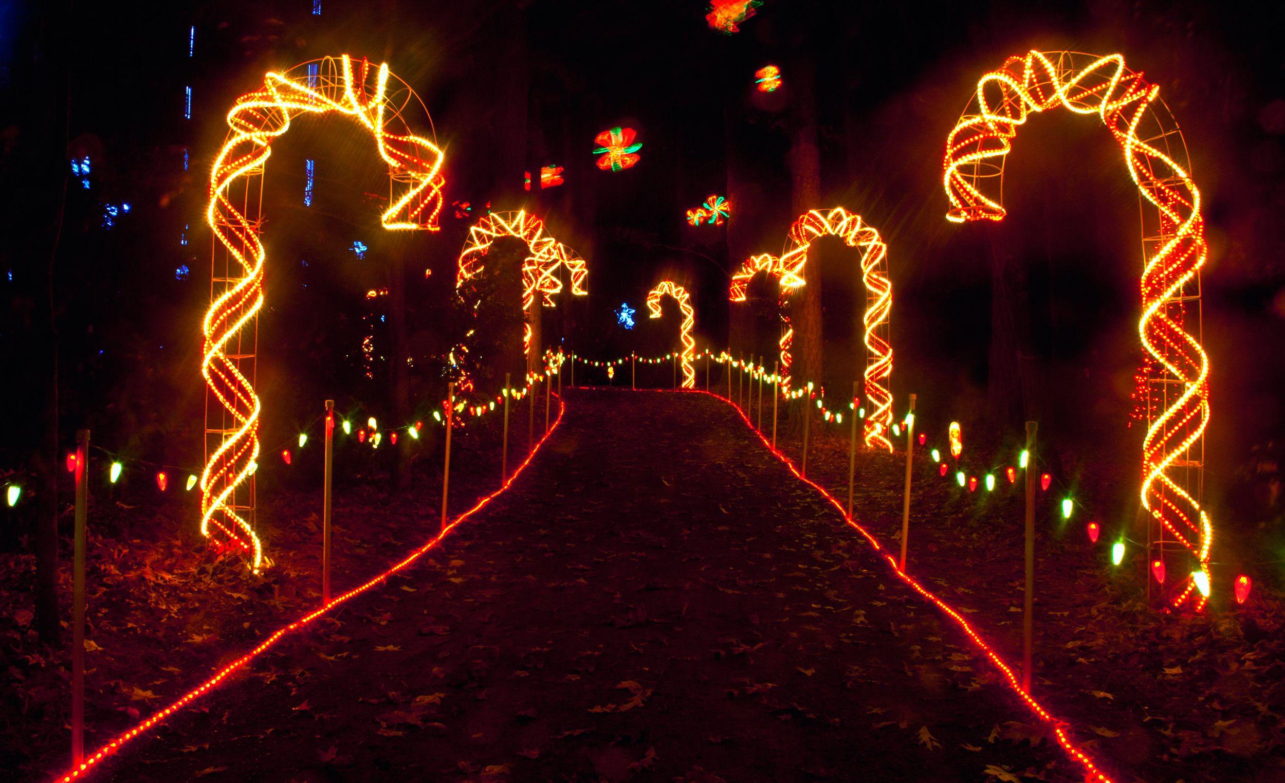 Candy Cane Lane Twelve days of christmas, Holiday lights