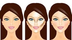 Resultado de imagen para contornear rostros redondos de tez morena