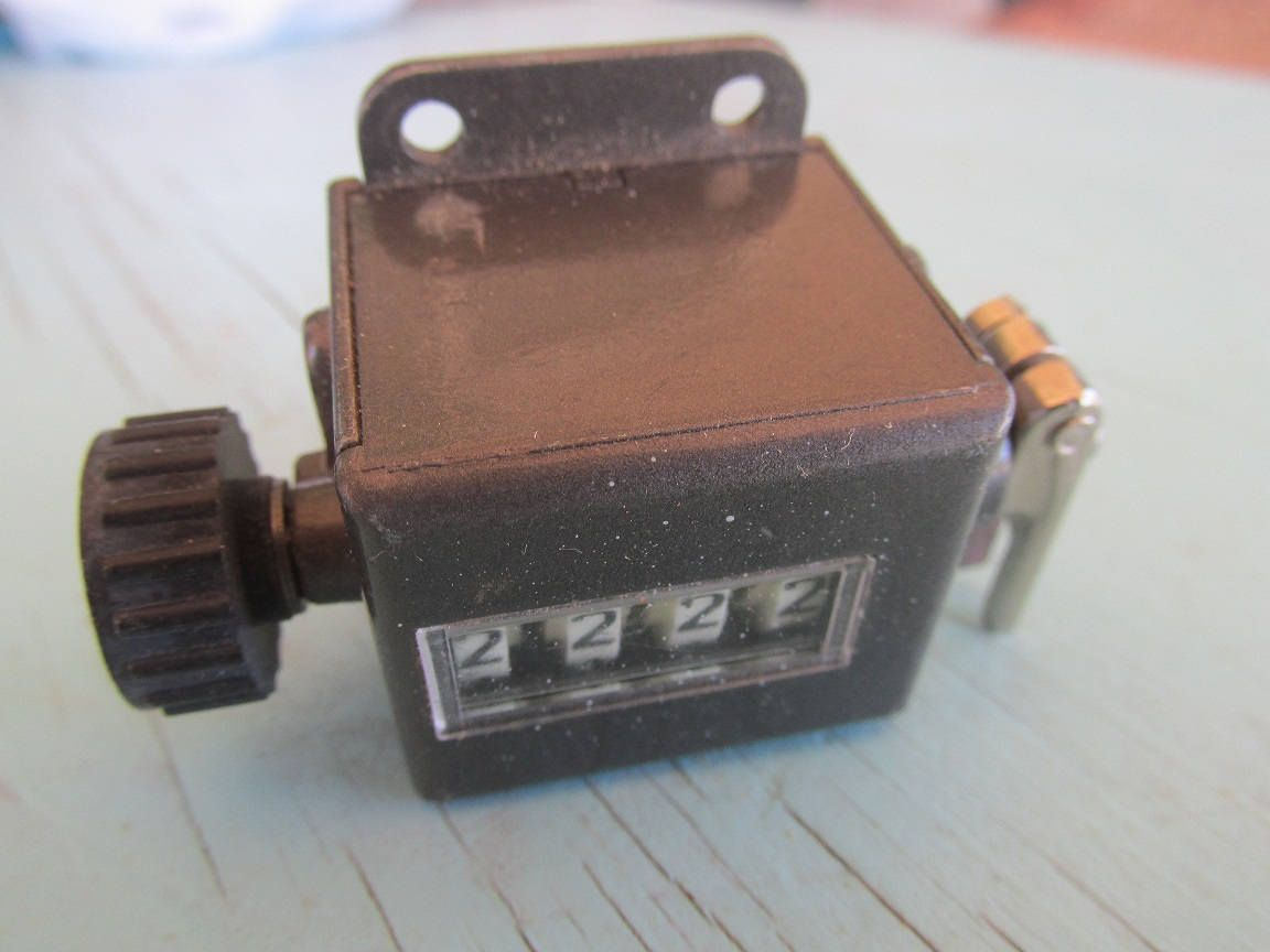 Made In England by ENM Counter Counting Instrument