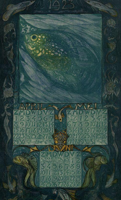 artistsanimals: Artist: Leo VisserTitle: Laender Voor Het Jaar 1923Date: 1923Source: Wolfsonian