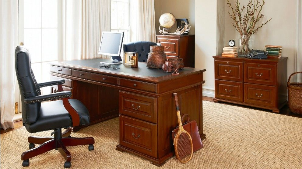 Windsor Executive Desk   Harvey Norman The Windsor Executive Desk Boasts  Prestige From Any Angle Thanks To Its Bold, Classic Aesthetics That Offer U2026