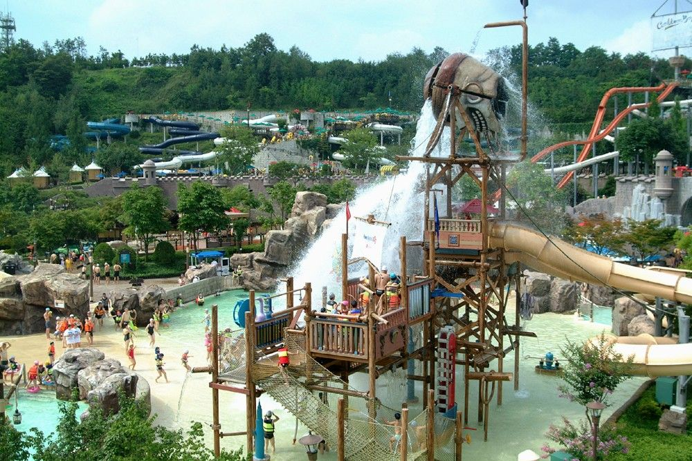 Caribbean Bay, Gyeonggi-Do, Zuid-Korea