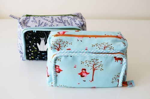 all in one box pouch | comfort stitching | Bloglovin'