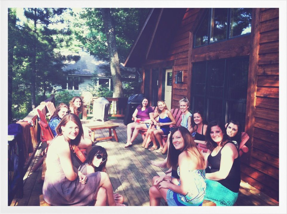 Cabin themed bachelorette party bachelorette party ideas for Cabin bachelor party