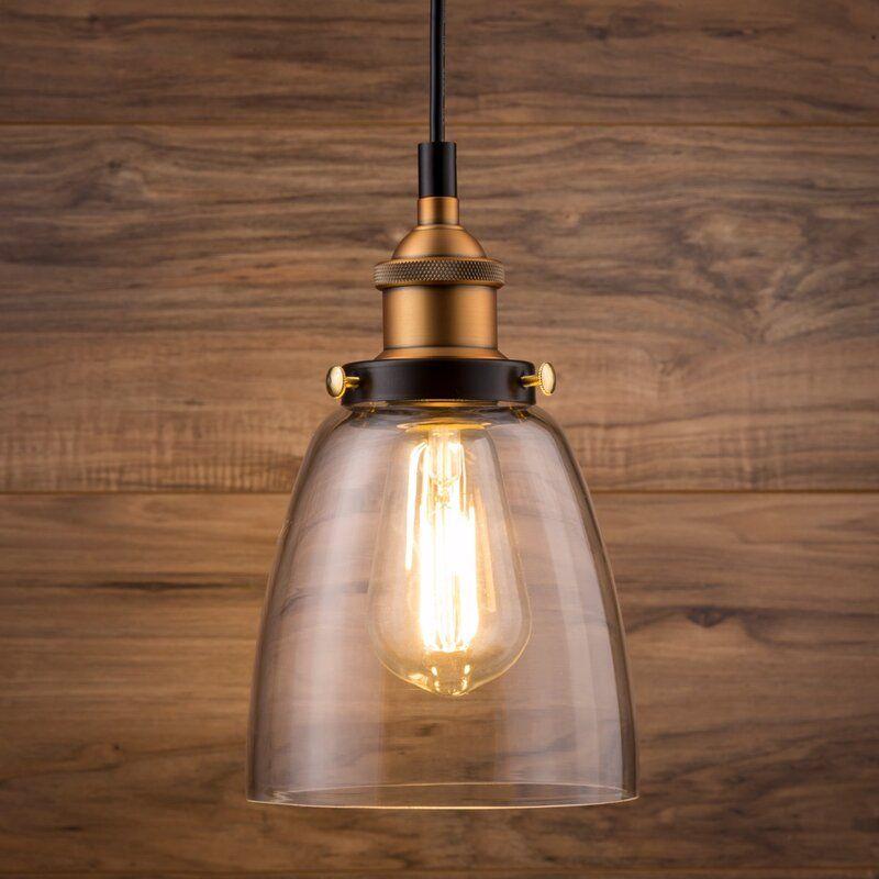 Bundaberg 1 Light Single Bell Pendant In 2020 Pendant Light Pendant Lighting Modern Light Fixtures