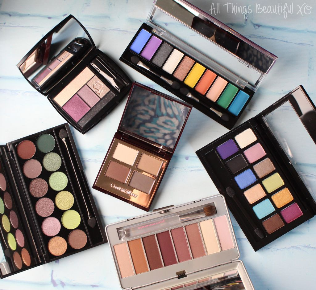 My New Spring & Summer Ready Eyeshadow Palette Picks ...