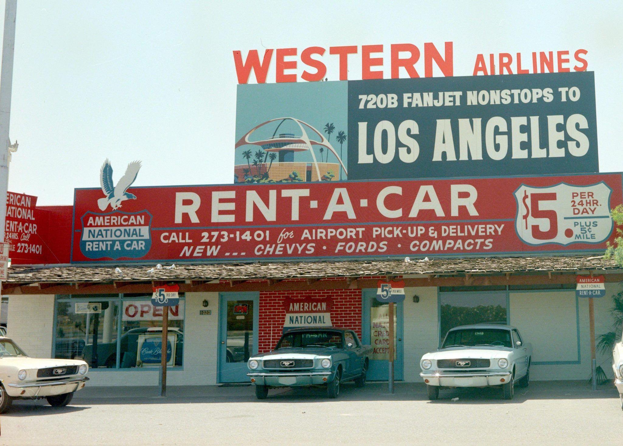 Mustang Rentals La 1960 S With Images Classic Car Rental