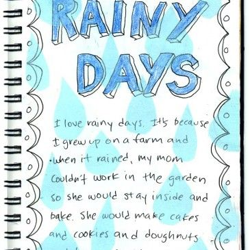 rainy days creative writing child art creative  rainy days creative writing