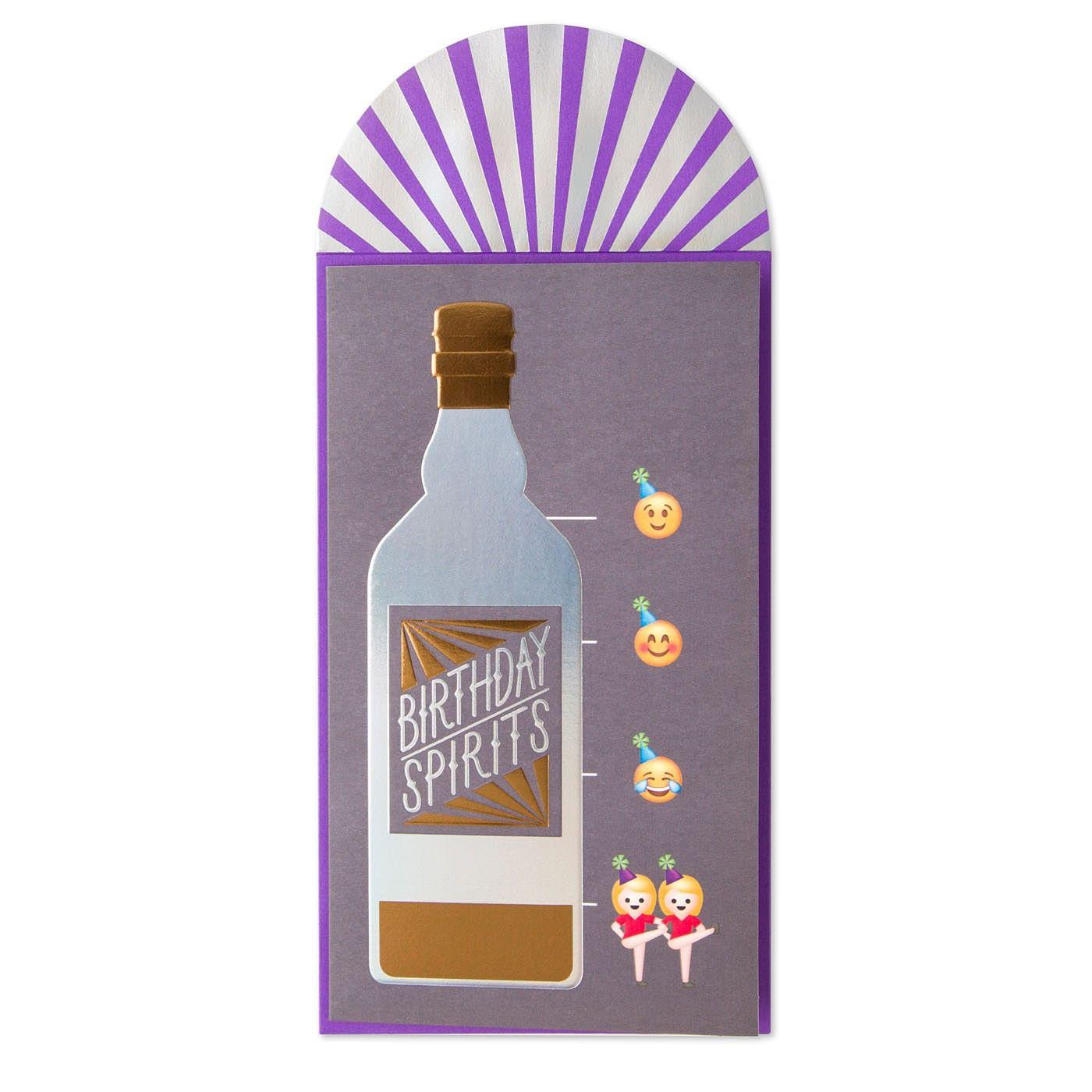 Drunk Emoji Birthday Card