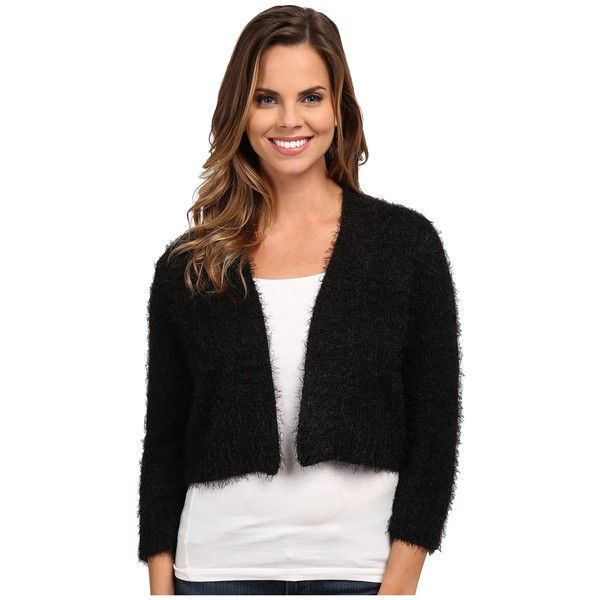 rsvp Bre Fuzzy Shrug Women's Sweater ($59) ❤ liked on Polyvore ...