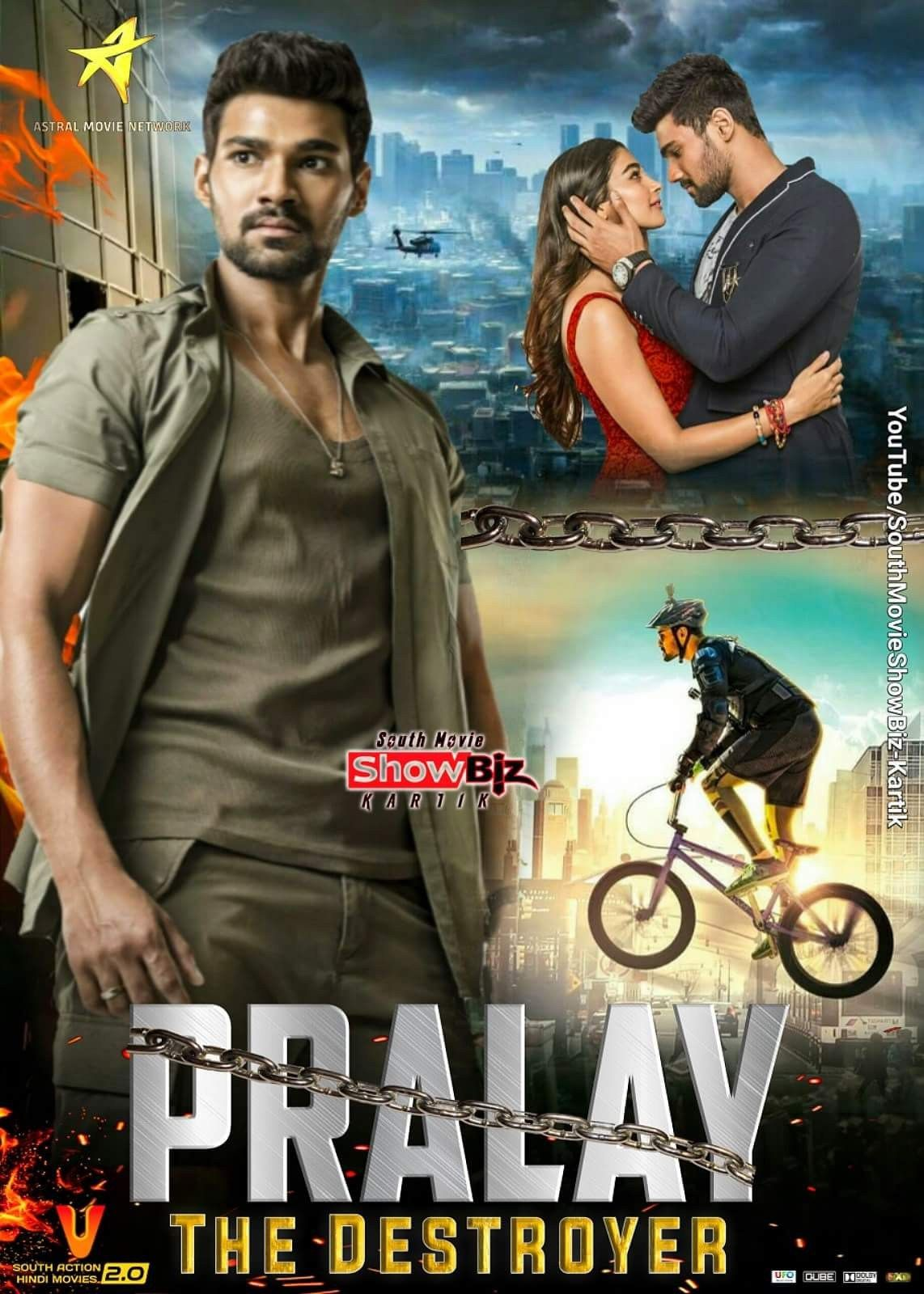 Pralay The Destroyer (Saakshyam) 2018 Telugu Dubbed 400MB