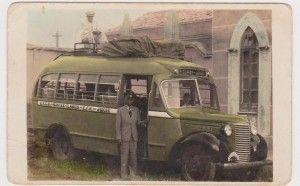 Empresa de Transporte Martins Neto, de Antônio Martins Neto, que fazia a linha Jequié-Montes Claros, isto em 1941 . O motorista era Daniel Santos