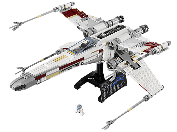 Build the ultimate LEGO® <i>Star Wars</i>™ X-wing Starfighter!