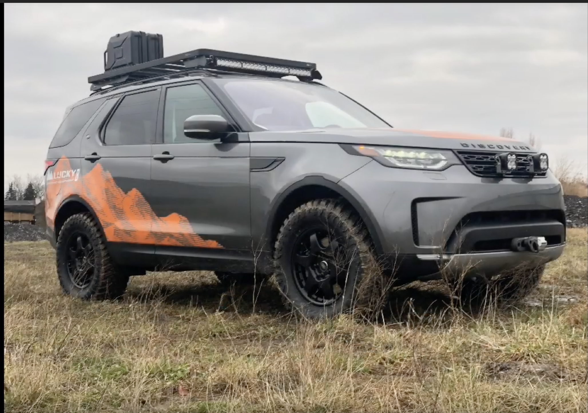 Lucky 8 Auto >> Lucky 8 Discovery 5 On 33 Tyres Discovery 5 Land Rover