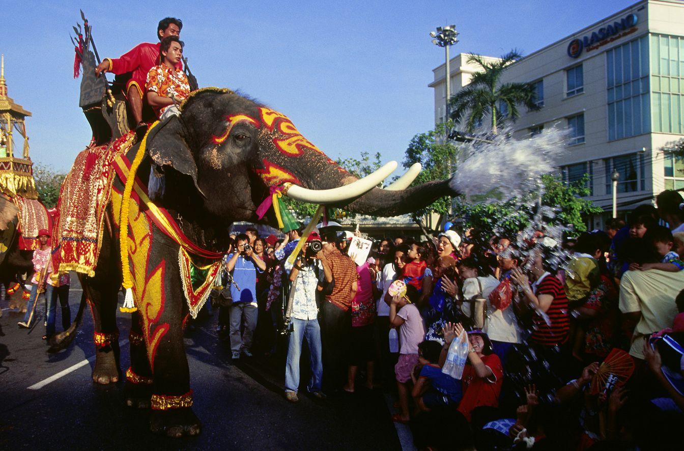 Songkran festival is coming! Songkran is actually Thailand