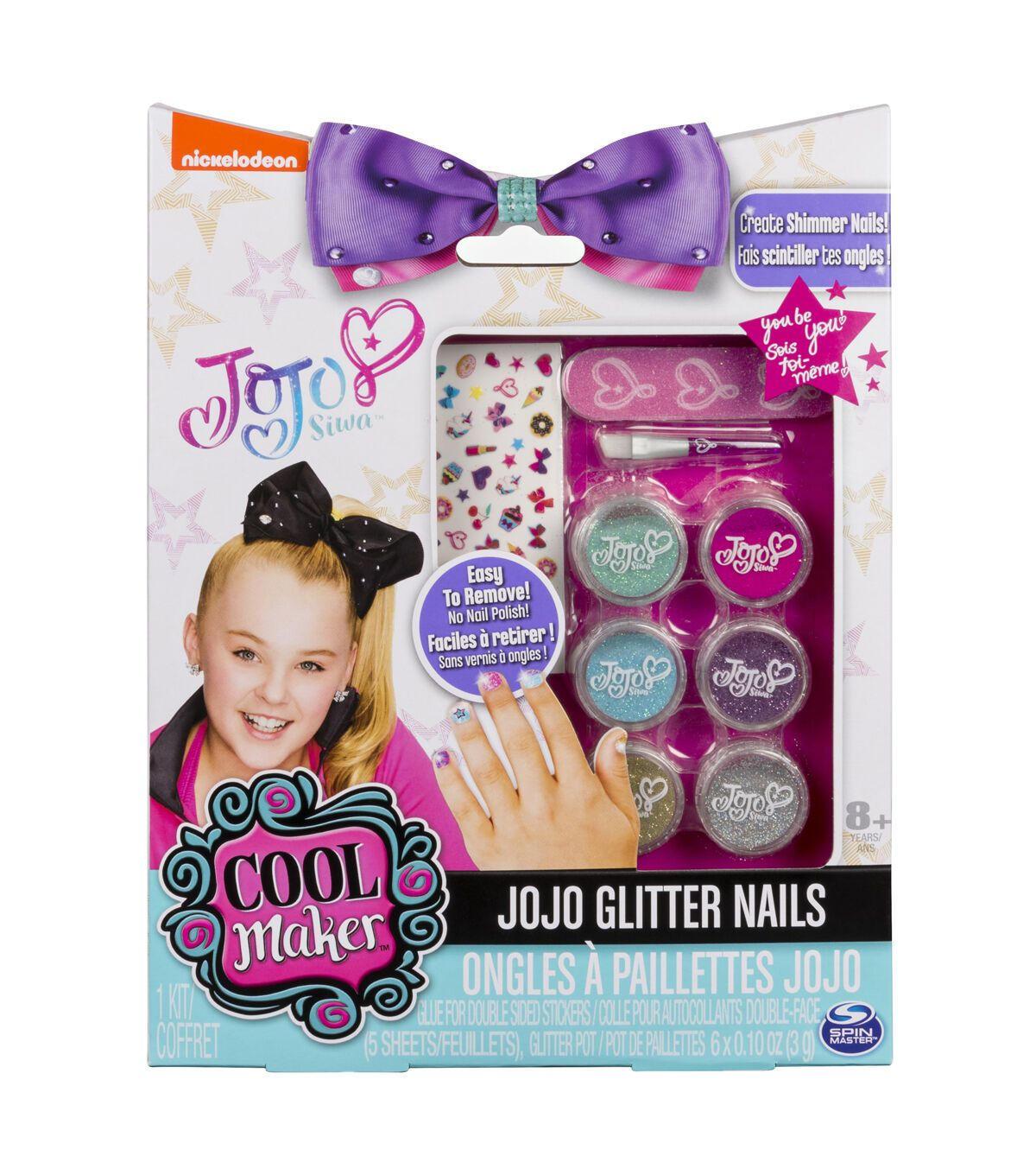 Cool Maker JoJo Siwa Glitter Nails | JOANN