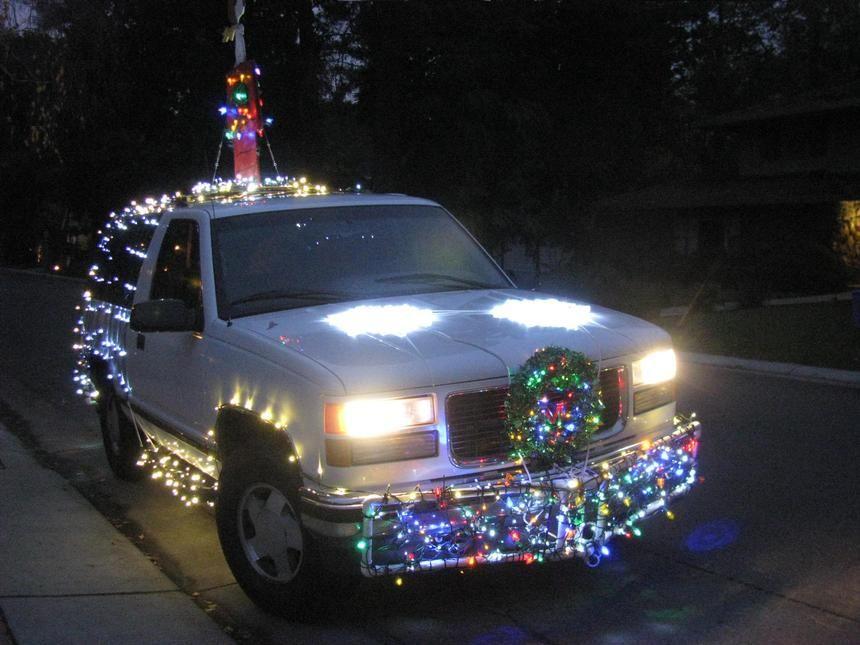 Crazy Christmas Car Lights - Sacramento Wedding Photographers ...