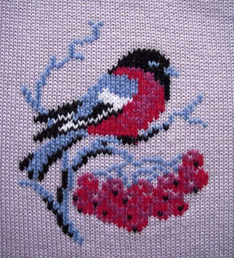 Вышивка на свитере для мальчика схема