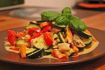 Hähnchen-Gemüse-Pfanne #howtostirfry